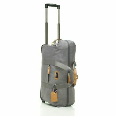 Storksak Travel Cabin/Carry On Wheeled Travel Bag Grey Marle Duffle
