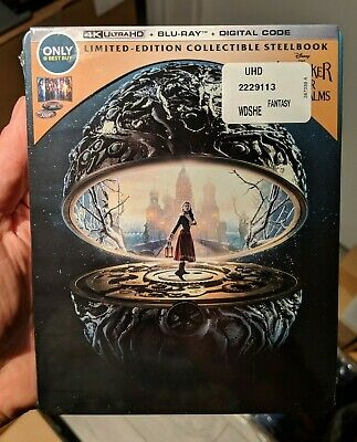 The Nutcracker and the Four Realms - Best Buy Steelbook (Blu-ray + 4K UHD) NEW!!