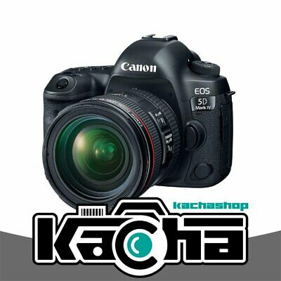NUOVO Canon EOS 5D Mark IV DSLR Camera + EF 24-70mm f/4L IS USM Lens