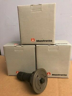 New Manfrotto 520BALLSH 75mm Half Ball Leveler - Short  NIB