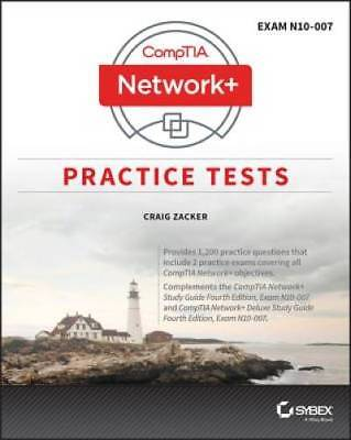 CompTIA Network+ Practice Tests: Exam N10-007 by Zacker, Craig