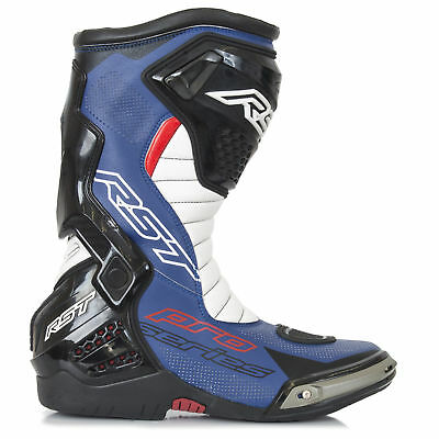 RST Pro Series Motorcycle Sports Race Boots-CE- Black/Blue