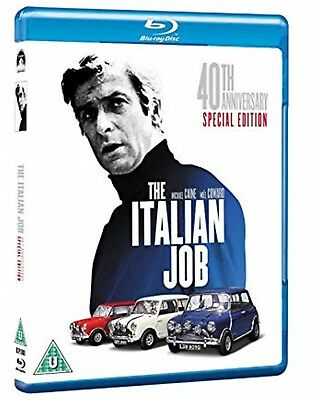 The Italian Job (1969) 40th Anniversary Edition - Brand New and Sealed Blu-ray