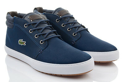 7b38f6b5b0 Lacoste Ampthill Terre 318 Homme Exclusif Baskets de Loisirs Chaussures  D'Hiver