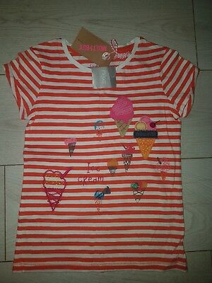 BNWT Next Girl ICE CREAM Summer Top 7 Years