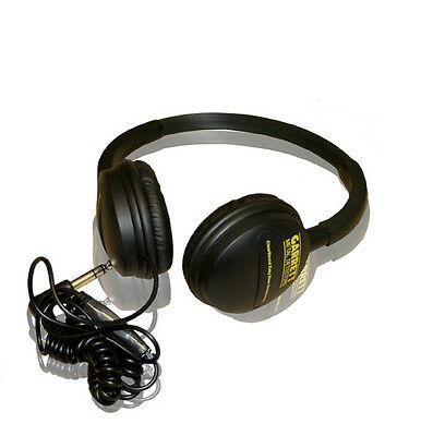 Garrett Easystow Volume Control Headphones For Metal Detectors - DETECNICKS LTD