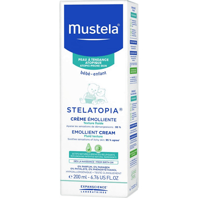 Mustela STELATOPIA Emollient Cream Very dry skin 200 ml / 6.76 fl oz