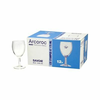 Arcoroc Savoie Wine Glasses LCE 175ml 12 x 24cl Pack of 4
