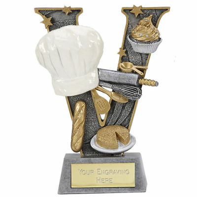 Bake Off Cooking Catering Chef Come Dine With Me Food Resin Trophy A1497B B6