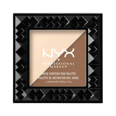 NYX Cheek Contour Duo Palette Double Date BRAND NEW Tester