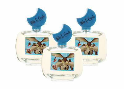 Wile Coyote by Looney Tunes for Boys&Girls Combo:EDT Spray 10.2oz (3x 3.4oz)