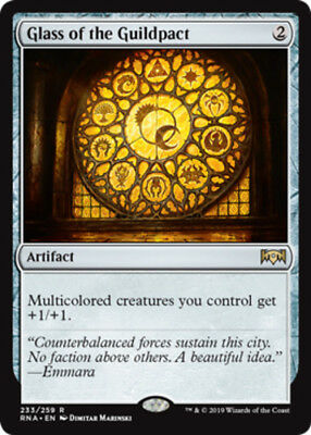 x4 Glass of the Guildpact MTG Ravnica Allegiance M/NM, English