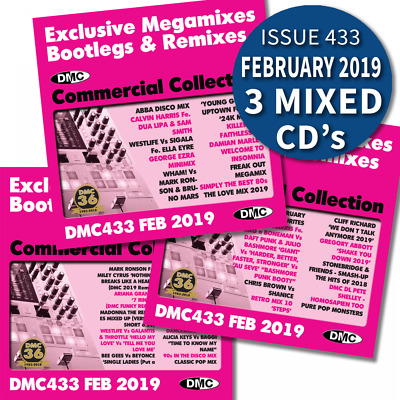 DMC Commercial Collection Issue 433 Bootleg Remix & Megamix DJ Double Music CD