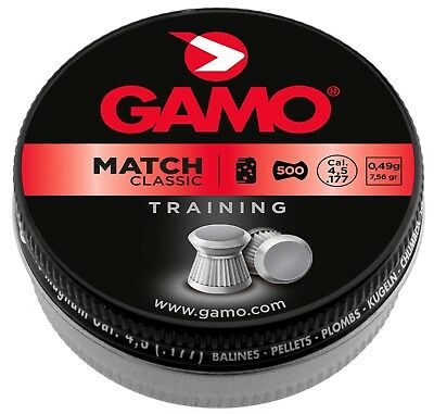 Plombs MATCH CLASSIC 4,5 mm - GAMO   500