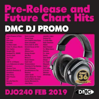 DMC DJ Only 240 Promo Double Chart Music CDs ft. Ariana Grande 7 Rings