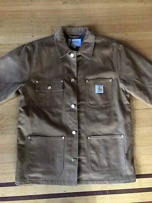 a1a092851f Carhartt WIP Michigan Chore Coat (Winter) Hamilton Brown New With Tags Mens