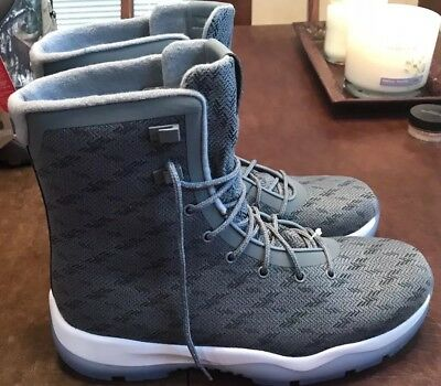 big sale b9e45 5ae2d Nike Air Jordan Future Boots Cool Grey White Men s Size 9.5 854554-003 NEW