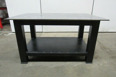 "H.D. 1/2"" Thick Top Steel Fabrication Layout Welding Table Work Bench 60"" x 40"""