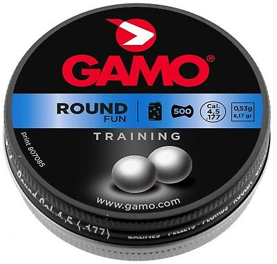 Plombs ROUND FUN 4,5 mm - GAMO