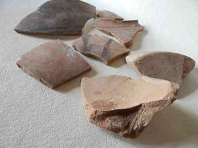 Neolithic Pottery Shards. Trypillian culture.