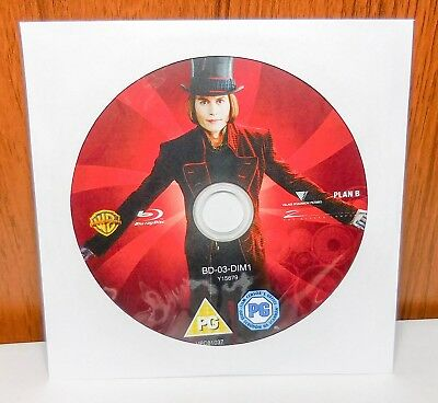Charlie and the Chocolate Factory - Disc Only (Blu Ray)