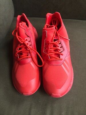 official photos b4ce1 c12b7 ADIDAS WOMEN'S ORIGINAL Tubular Runner Red Athletic Shoes #AQ8424 Size 8.5