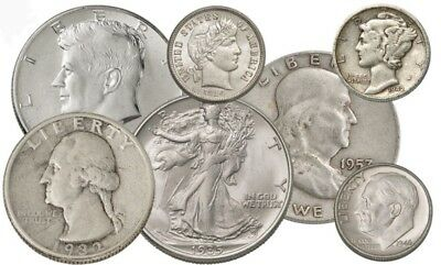 90% Silver Coins $1 Face-Value