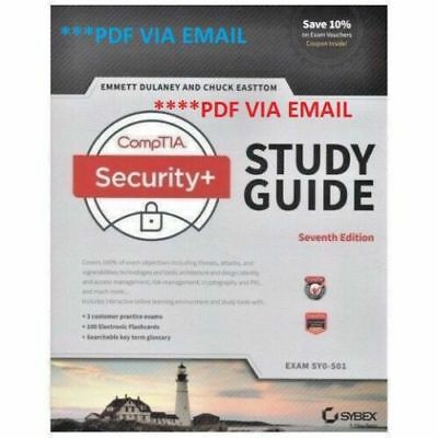 CompTIA Security+ Study Guide: Exam SY0-501 7th Edition * PDF *