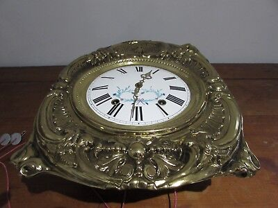 antique d movement clock comtoise clock