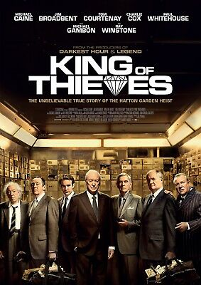 King of Thieves (Michael Caine, Jim Broadbent) 2018, DVD