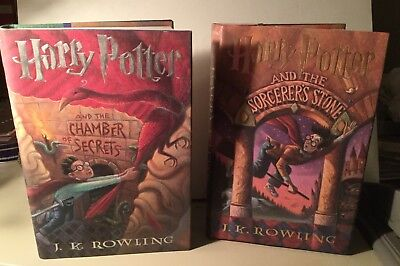Six American First Editions Of Harry Potter