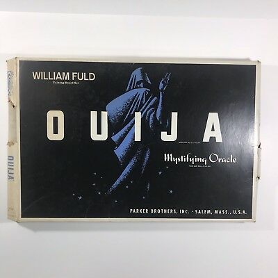 Vintage Ouija Board Game William Fuld Parker Brothers with Planchette