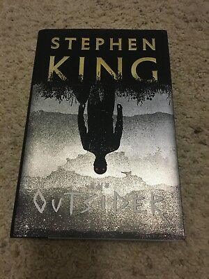 The Outsider: A Novel Hardcover – May 22, 2018 by Stephen King. Freeship