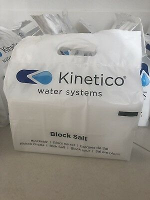 3 PACKS - Kinetico Block Salt - Harvey's salt water softener.