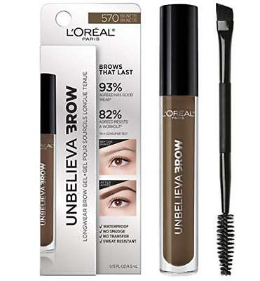 L'Oreal Unbelieva Brow ~ Longwear Brow Gel ~ NEW IN BOX