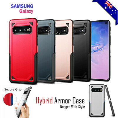 Samsung Galaxy S10 S10+ Plus S10E Case Shockproof Heavy Duty Tough Case Cover