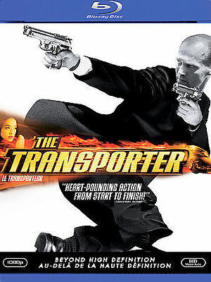 The Transporter (Blu-ray Disc, 2008, Canadian)