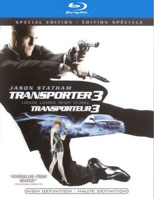 The Transporter 3 (Blu-ray Disc, 2009, Canadian)