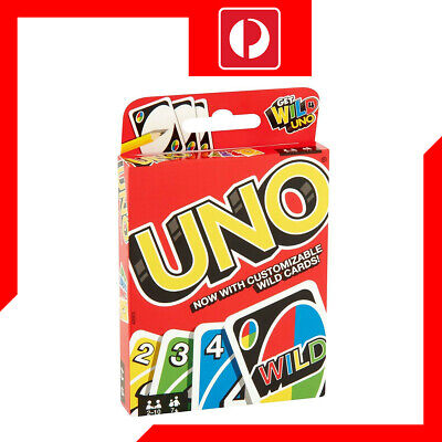 UNO Original Card Game with Customize Wild Cards