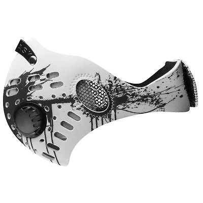 RZ Mask M1 White Splat Air Filtration Youth Protective Masks