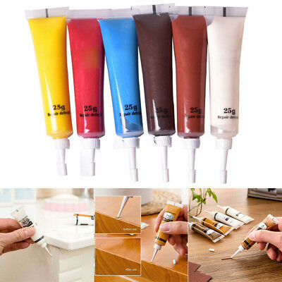 2Pcs Furniture Scratch Fast Remover Solid Wood Refinishing Paste Repair Painting