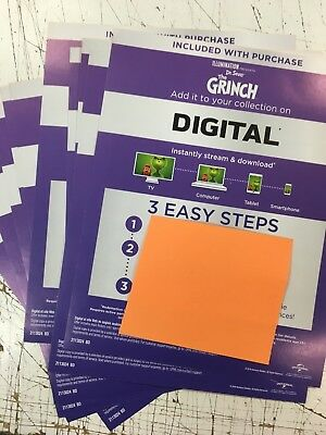 The Grinch (2018)  Canadian Digital code only