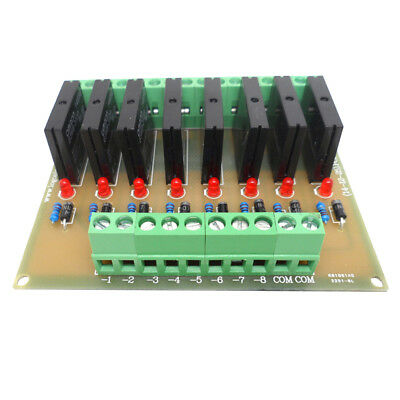 DC 12V Power Relay Shield Driver Module Board High Level Trigger 8 Way NPN