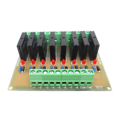 DC 24V Power Relay Shield Driver Module Board High Level Trigger 8 Way NPN