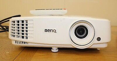 BENQ Projector + HDMI/Apple Leads; Remote. Collect North Beds or PostinUK. VGC