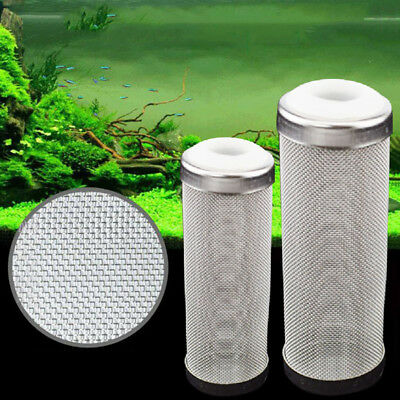 12/16mm Aquarium Fish Tank Filter Inflow Outflow Lily Pipe Stainless Steel Tube