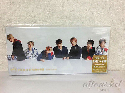 THE BEST OF BTS Bangtan Boys Edition First Limited edition New CD DVD Japan F/S