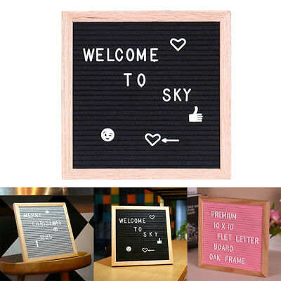 Felt Fashion School Changeable Message Numbers Letter Board English Alphabet