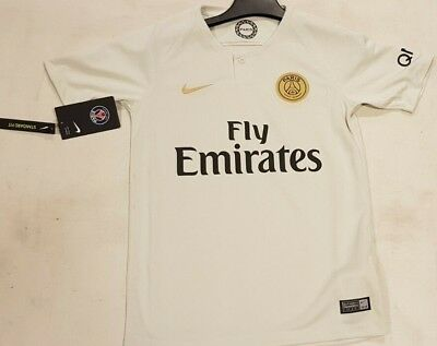 sale retailer 97605 6562c Nike Paris Saint Germain PSG Away Shirt 2018 2019 Junior Kids Top Kit Age  10-