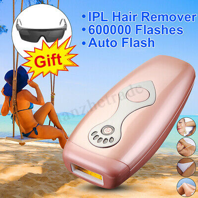 5 Gear IPL Laser Painless Hair Removal Epilator Permanent 600000 Face Body Skin